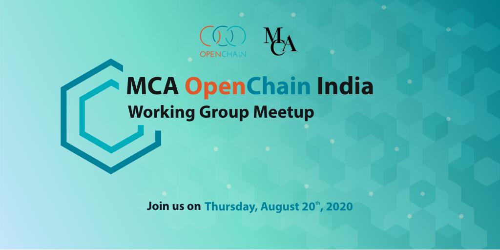 MCA OpenChain India Working Group Meetup