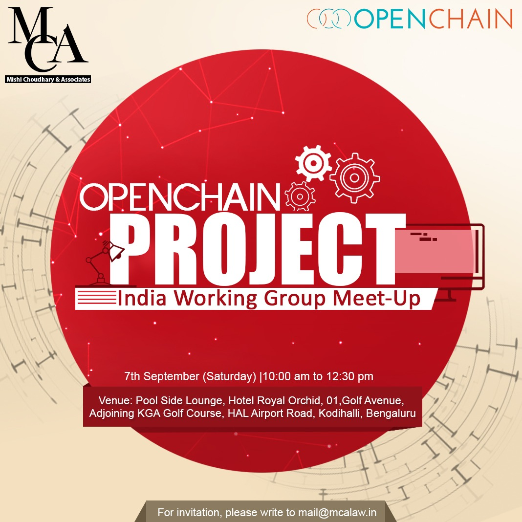 OpenChain Project: India working group meetup