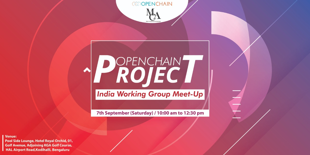 Meet-up Report on OpenChain Project's first India Work-Group meet-up (Bangalore on 7th September